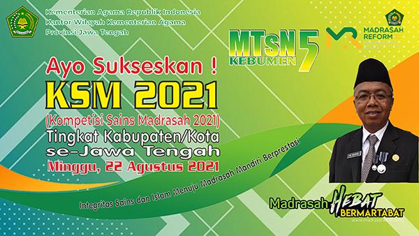 Sambutan Kepala Madrasah Tsanawiyah Negeri 5 Kebumen | Pelaksanaan kegiatan KSMO tahun  2021